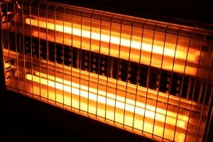 overheated heater